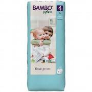 BAMBO Nature 4 Dětské plenkové kalhotky 7-14 kg 48 ks