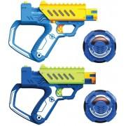 Set doua Pistoale cu Laser Battle Ops Silverlit