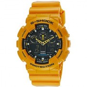 Casio G-Shock Analog-Digital Black Dial Mens Watch - GA-100A-9ADR (G273)