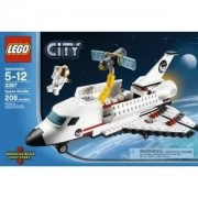 Toy / Game Lego Space Shuttle 3367 With Astronaut In Spacesuit, Open Cargo Bay Doors & Hubble Space Telescope