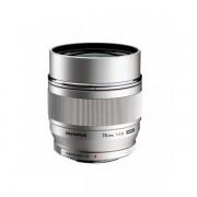 Obiectiv Olympus M.Zuiko Digital ED 75mm f/1.8 MSC Silver montura Micro Four Thirds