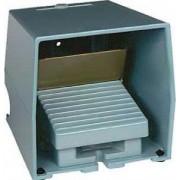 Comutator de picior simplu - ip66 - cu capac - metalic - albastru - 2 nc + 2 no - Comutator de picior - Harmony xpe - XPEM511 - Schneider Electric