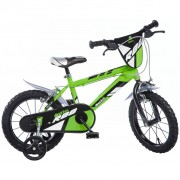 "Dino Bikes Kids' Bicycle MTB R88 Green 16"" DINO356007"