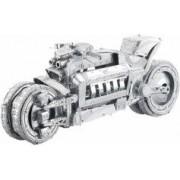 Playtastic Maquette 3D en métal : Moto futuriste - 45 pièces