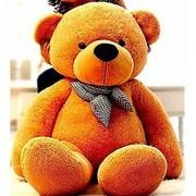 Teddy Bear Birthday Gift for Girlfriend/Wife Happy Birthday Teddy Soft Toy 5 feet Brown 152 cm