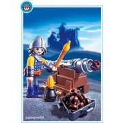 Playmobil 5758 Knights & Castles Cannon Guard