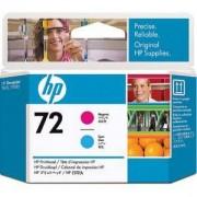 HP 72 (C9383A) Magenta and Cyan Printhead