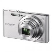 Sony Cyber-shot DSC-W830 - Digitale camera compact 20.1 MP 720p 8x optische zoom zilver