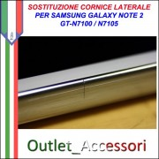 Riparazione Sostituzione Cambio Cornice Telaio Frame Rotto per Samsung Galaxy Note 2 Note2 N7100 N7105