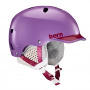 Bern Helma Bern Lenox satin purple/cranberry trim