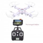 Drone F-805c 4ch Camara 2mp Wifi Monitoreo Smartphone Generico - Blanco