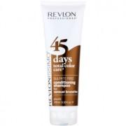 Revlon Professional Revlonissimo Color Care champú y acondicionador 2 en 1 para los tonos marrones del cabello sin sulfatos 275 ml