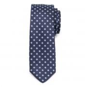 Keskeny nyakkendő virágmintával 9814