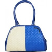 Blis Vogue Hand-held Bag(Blue, Beige)