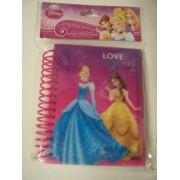 Disney Glitter Spiral Journal ~ Disney Princess Sparkle (Love to Sparkle)