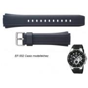 EF-552 Casio fekete műanyag szíj