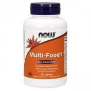 Мултивитамини Multi-Food - 90 таблетки, NOW FOODS, NF3846