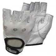 Mănuși antrenament stil alb (pereche)