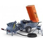 Автономный смеситель-пневмонагнетатель EUROMIX 320 D TRAIL (дизельный)