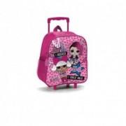 Lol Surprise Zaino scuola con trolley colore rosa