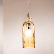 Due P Illuminazione Bottiglia Lampada A Sospensione In Vetro Soffiato Design Moderno