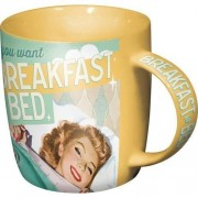 ART Mugg Retro 'Breakfast In Bed'