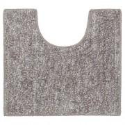 Douche Concurrent Toiletmat Antislip Sealskin Speckles Polyester/Micro Fibre Taupe 45x50cm