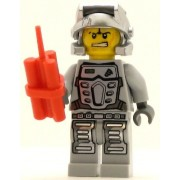 LEGO Power Miner Minifig Rex Gray Outfit