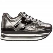 Hogan Scarpe sneakers donna in pelle maxi h222