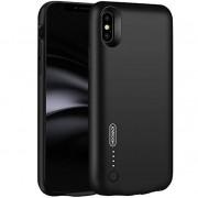 Husa Baterie Ultraslim iPhone X, iUni Joyroom 3500mAh, Black
