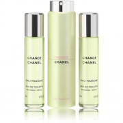 Chanel chance eau fraîche eau de toilette twist and spray 3 x, 20 ml