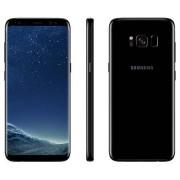 "Samsung Smartphone Samsung Galaxy S8 Sm G950f 64 Gb 4g Lte Wifi 12 Mp Dual Pixel Octa Core 5.8"" Quad Hd+ Super Amoled Midnight Black Garanzia Ufficiale Samsung Europa"