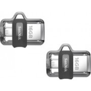SanDisk OTG 3.0 Ultra Dual Drive (Pack Of 2) 16 GB Pen Drive(Multicolor)