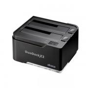 Akasa DuoDock X2 USB3.0 Clone Docking Station AK-DK06U3-BKCM