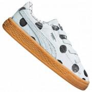 PUMA x tinycottons Basket Kinderen Sneaker 365978-02 - wit - Size: 19