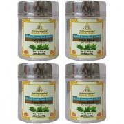Khadi Pure Herbal Neem Basil Mint Face Mask (Anti-Acne) - 50g (Set of 4)