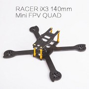 Generic iFlight Racer iX3 140mm FPV Racing Quadcopter Frame for 3'' Props and 1306 Motor F4 Flight Controller Board for FPV Race Drone