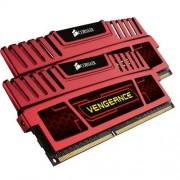 Corsair CMZ8GX3M2A2133C11R Vengeance 8GB (2x4GB) DDR3 2133 Mhz CL11 Mémoire pour ordinateur de bureau performante avec profil XMP. Rouge