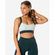 ICANIWILL Empowering Sport Bra, Pine Green