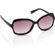 Joe Black Oval Sunglasses(Pink)