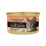 AvoDerm Natural Wild by Nature Grain-Free Salmon in Salmon Consomme Canned Cat Food, 3-oz