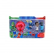 Set de 5 Figuras Pj Mask Bandai-Multicolor