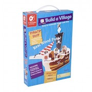 Classic Build A Pirate Ship Building Kit