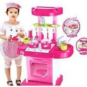 SAIMA Kids Kitchen Set Toy With Light And Sound BIG SIZE