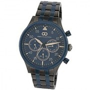 Gio Collection Analog Blue Dial Mens Watch - G1006-77