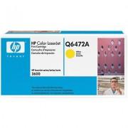 HP Color LaserJet 3600 Print Cartridge, yellow (Q6472A)