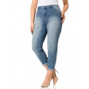 Womens Sara Boyfriend Jeans - Stonewash Trousers