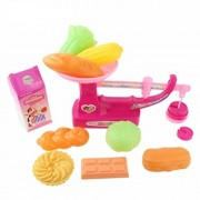 oldeagle 12pcs Balance Scale Cooking Toy Set Children's Educational Cook Toys Kids Gift