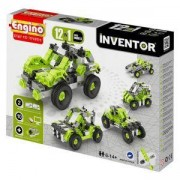 Конструктор Енджино Изобретател - 12 модела коли - Engino, 150009