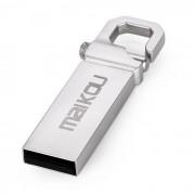Maikou MK2204 16 GB USB 2.0 Flash U disco de acero de tungsteno - gris plateado